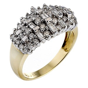 18ct Gold 1 Carat Diamond Ring
