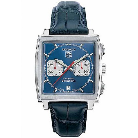 TAG Heuer Monaco men's automatic chronograph watch