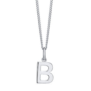Silver B Initial Pendant - Product number 4551427