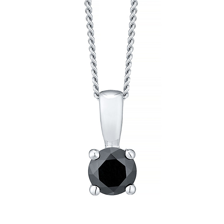 September Silver Black Cubic Zirconia Pendant - Product number 4551451