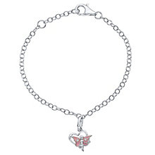 Sterling Silver Cubic Zirconia Children's Fairy Bracelet - Product number 4552555