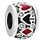 Chamilia Royal Flush Sterling Silver Enamel & Swarovski Bead - Product number 4567900