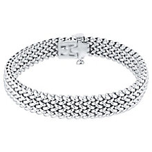 Sterling Silver 9mm Woven Bracelet - Product number 4570200