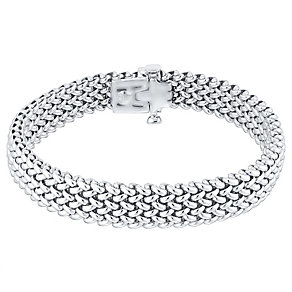 Silver Woven 9mm Bracelet - Product number 4570200