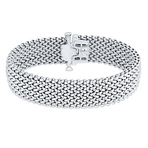 Silver Woven 17mm Bracelet - Product number 4570316
