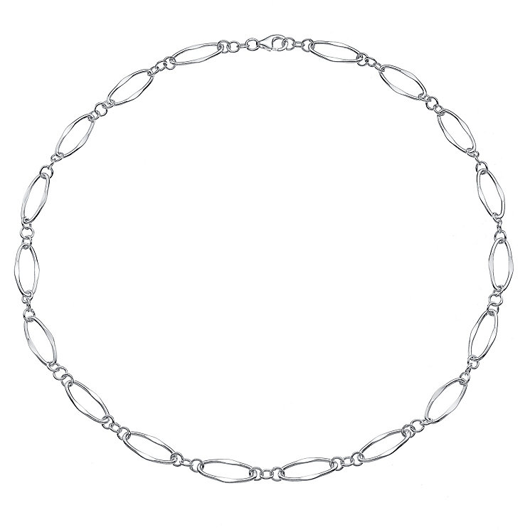 Sterling Silver Loop Short Necklace - Product number 4570332