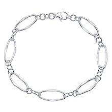 Sterling Silver Open Link Bracelet - Product number 4570367