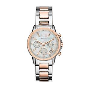 Armani Exchange Ladies' Stainless Steel Bracelet Watch - Product number 4570413