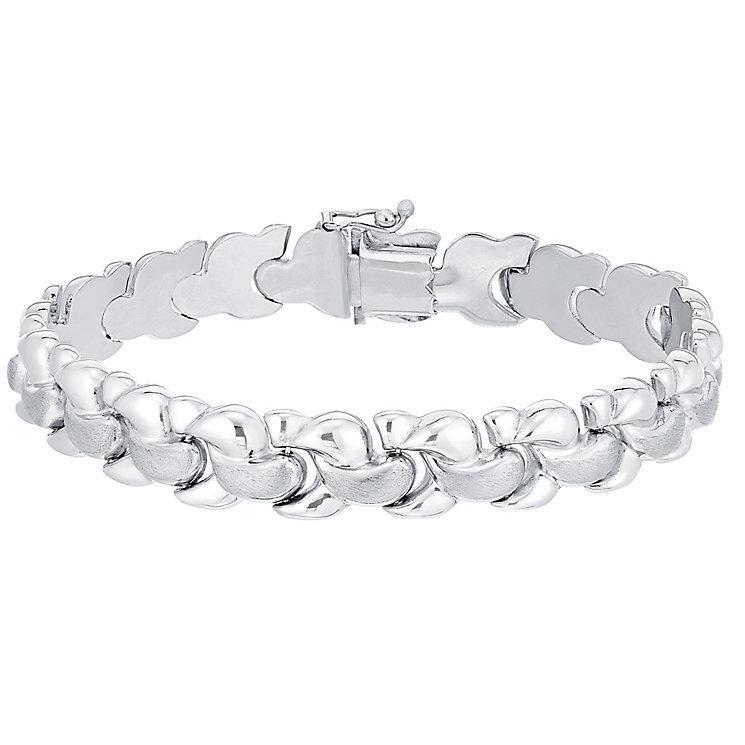 Sterling Silver  Plaited Bracelet - Product number 4570421