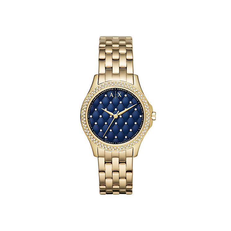 Armani Exchange Ladies' Gold-Plated Bracelet Watch - Product number 4570448