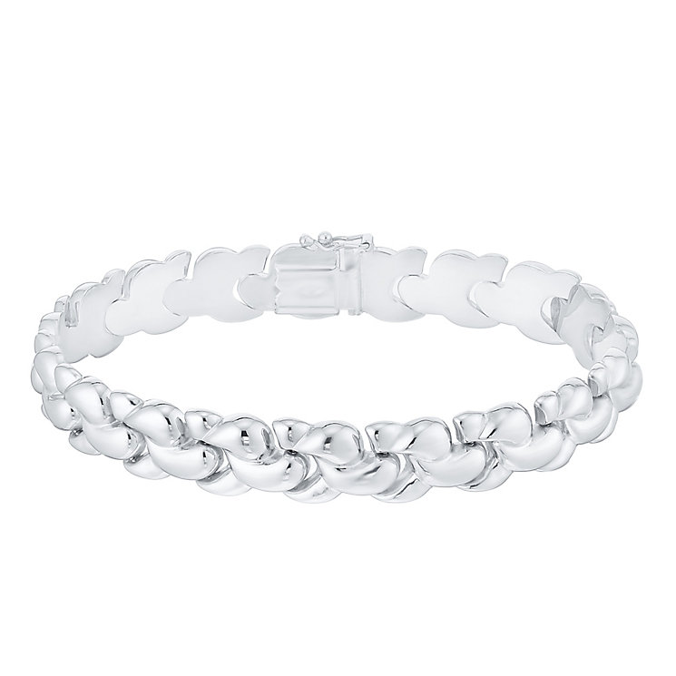 Sterling Silver Plaited Bracelet - Product number 4570456