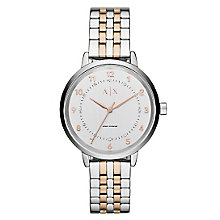 Armani Exchange Ladies' Stainless Steel Bracelet Watch - Product number 4570731