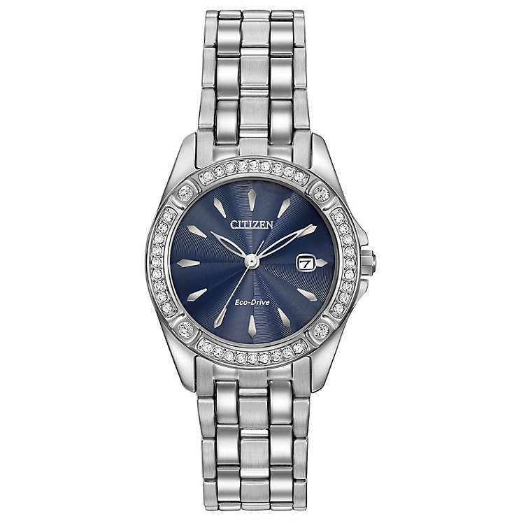 Citizen Eco-Drive Ladies' Stainless Steel Bracelet Watch - Product number 4574249