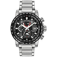 Citizen Eco-Drive Men's Stainless Steel Bracelet Watch - Product number 4574559