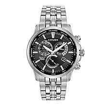 Citizen Eco-Drive Men's Stainless Steel Bracelet Watch - Product number 4574982