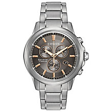 Citizen Eco-Drive Super Titanium Men's Bracelet Watch - Product number 4574990