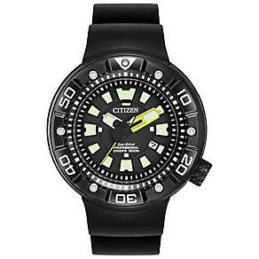 Citizen Eco-Drive Pro Diver's Men's Polyurethane Strap Watch - Product number 4575008