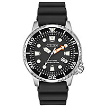 Citizen Eco-Drive Diver's Men's Polyurethane Strap Watch - Product number 4575016