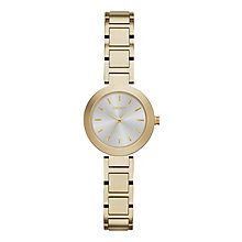 DKNY Ladies' Stanhope Yellow Gold Tone Bracelet Watch - Product number 4575091