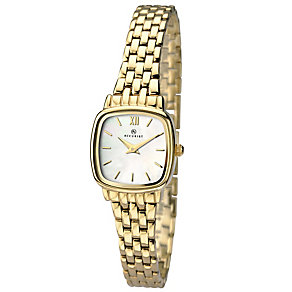 Accurist Ladies' Tonneau Dial Gold-Plated Bracelet Watch - Product number 4575148