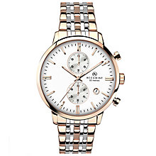 Accurist Men's Chronograph 2 Colour Steel Bracelet Watch - Product number 4575210