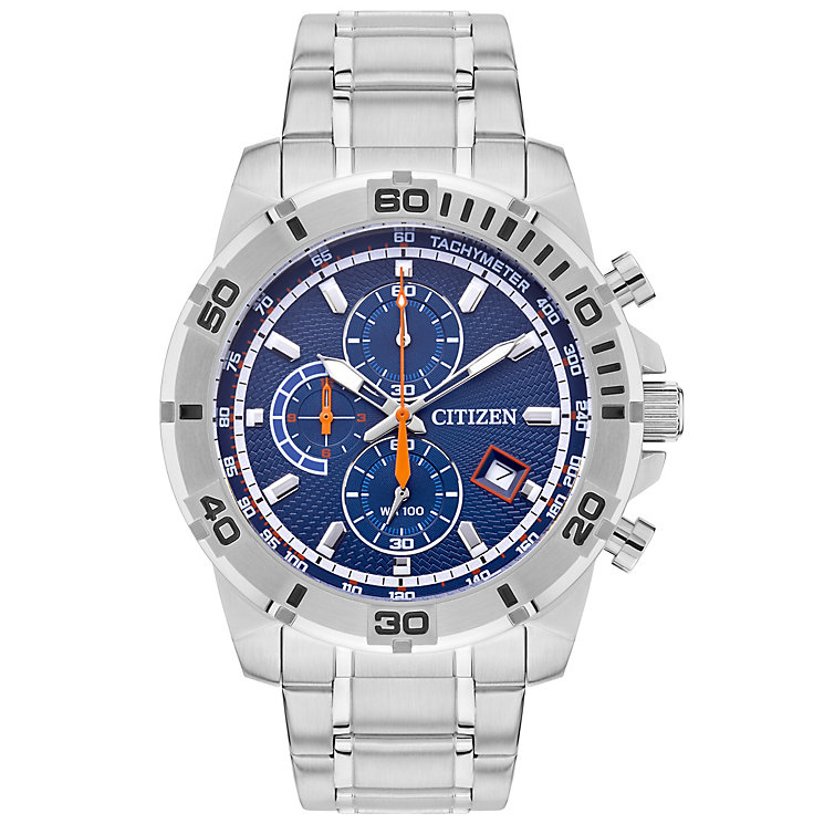 Citizen Men's Multi Dial Stainless Steel Bracelet Watch - Product number 4575318