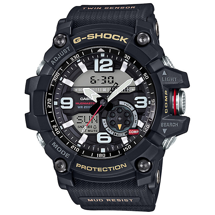 G-Shock Mudmaster With Black Resin Strap - Product number 4575326