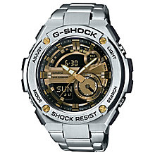 G-shock Men's Stainless Steel Black & Gold Dial Watch - Product number 4575334