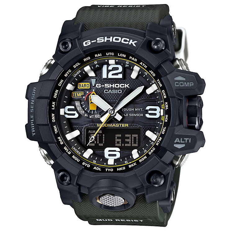 G-Shock Mudmaster Black Dial Khaki Resin Strap Watch - Product number 4575350