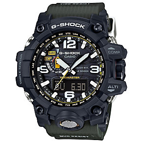 Casio G-Shock Mudmaster Black Dial Khaki Resin Strap Watch - Product number 4575350