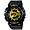 Casio Baby G Gold Dial Black Resin Strap Watch - Product number 4575369