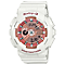Casio Baby G Pink Dial White Resin Strap Watch - Product number 4575377