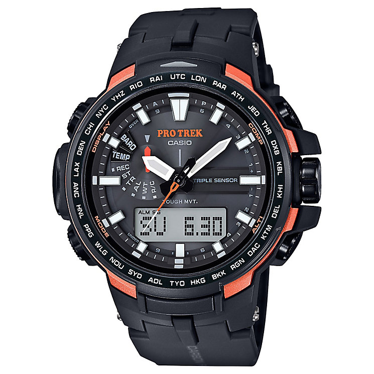 Casio Protrek, Radio Controlled & Resin Strap - Product number 4575415