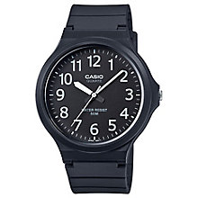 Casio Men's Black Dial Black Resin Strap Watch - Product number 4575423