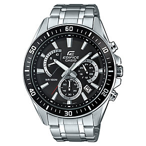 Casio Edifice Men's Black Dial Stainless Steel Watch - Product number 4575458