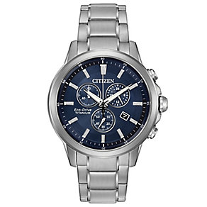 Citizen Eco Drive Men's Stainless Steel Bracelet Watch - Product number 4575644