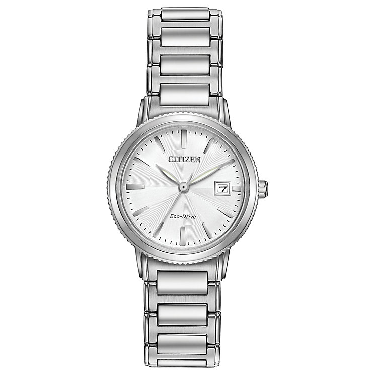 Citizen Eco Drive Ladies' Stainless Steel Bracelet Watch - Product number 4577914
