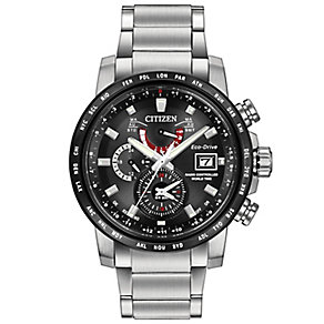 Citizen Eco Drive Men's Stainless Steel Bracelet Watch - Product number 4577965