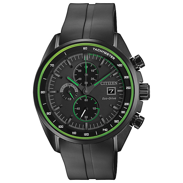 Citizen Eco Drive Men's Ion Plated Strap Watch - Product number 4578023