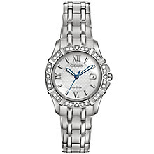 Citizen Eco Drive Ladies' Stainless Steel Bracelet Watch - Product number 4578031