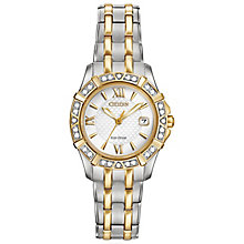 Citizen Eco Drive Ladies' Stone Set Bracelet Watch - Product number 4578082