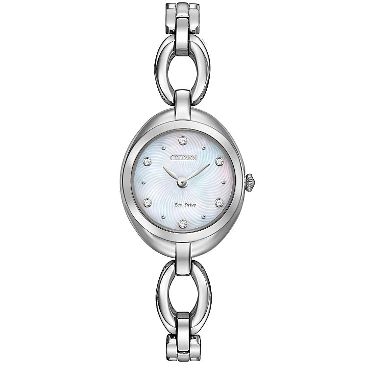 Citizen Eco Drive Ladies' Stainless Steel Bracelet Watch - Product number 4578090