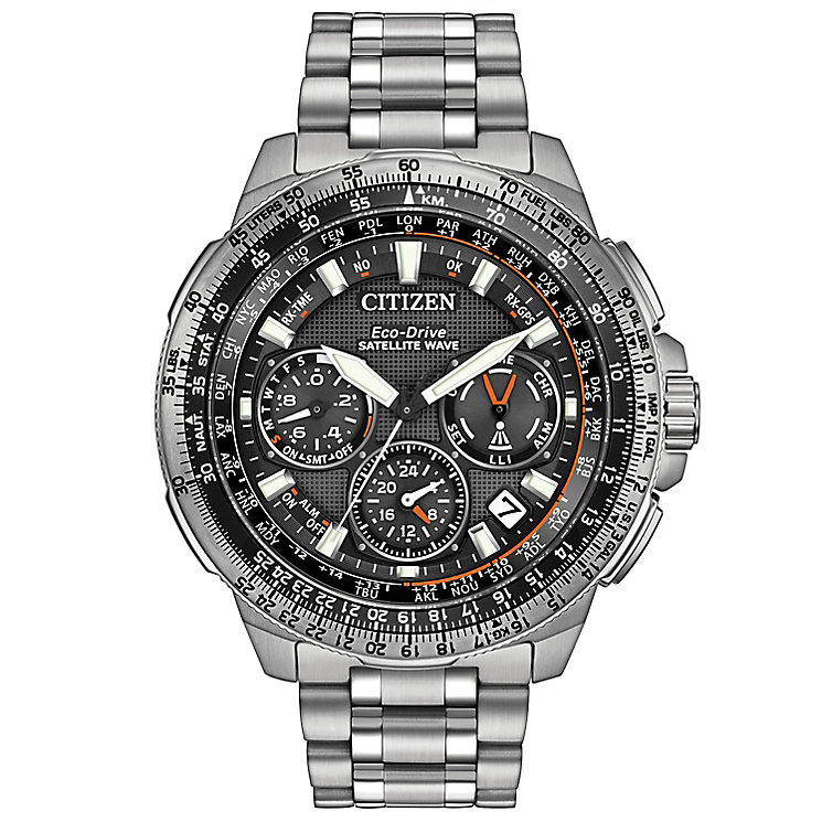 Citizen Eco Drive Men's EXC Stainless Steel Bracelet Watch - Product number 4578694