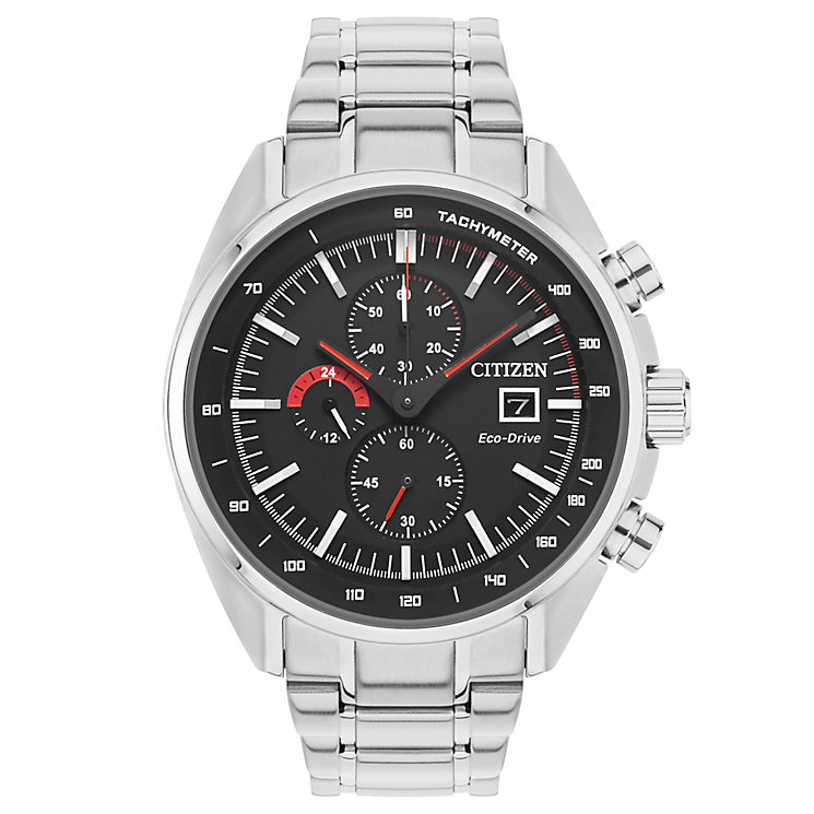 Citizen Eco Drive Men's Stainless Steel Bracelet Watch - Product number 4578708