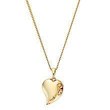 Clogau Gold Tree Of Life 9ct Gold Heart Pendant - Product number 4580958