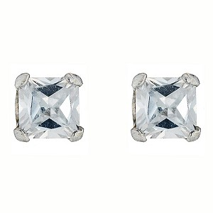 White Gold Cubic Zirconia Studs - Product number 4580982