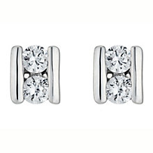 White Gold Cubic Zirconia Studs - Product number 4581113