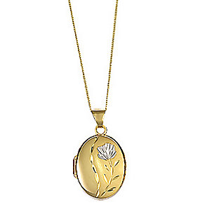 9ct Gold Locket - Product number 4583590