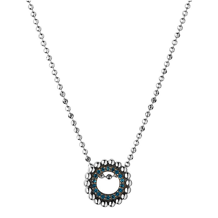 Links of London Sterling Silver & Blue Diamond Necklace - Product number 4587847