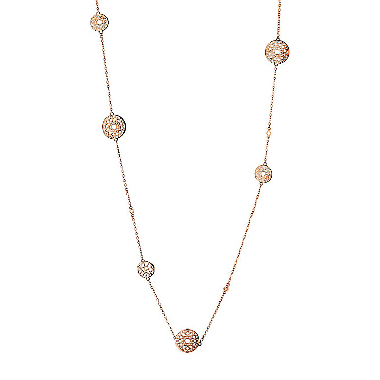 Links Of London Timeless Rose Gold Vermeil Necklace - Product number 4587863